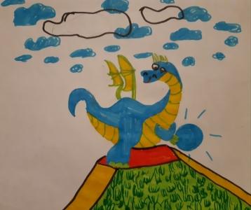 Drachenreisebild
